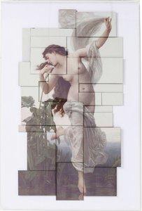 Deko Rahmen Ancient Collage 150x100cm