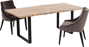 Tisch Harmony Schwarz 180x90