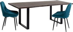 Tisch Harmony Dunkel Schwarz 200x100