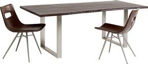 Tisch Harmony Dunkel Chrom 200x100