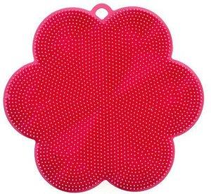 Cookline Schwamm- und Fusselbürste pink