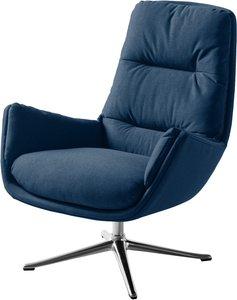 Studio Copenhagen Sessel Garbo III Blau Webstoff 83x95x92 cm (BxHxT)