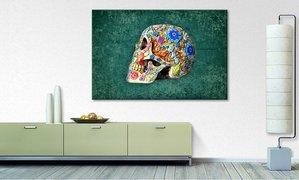home24 Bild Colorful Skull