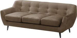 home24 ars manufacti Sofa Rometta 3-Sitzer Muskat Microfaser 184x77x80 cm