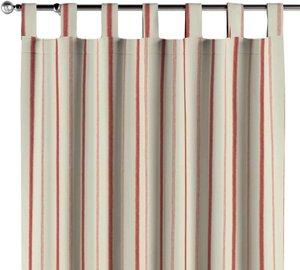 Schlaufenschal, creme- rot, 130 × 260 cm, Avinon (129-15)