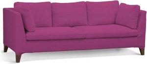 Bezug für Stockholm 3-Sitzer Sofa, amarant, Stockholm 3-Sitzer, Etna (705-23)