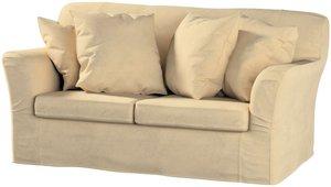 Tomelilla 2-Sitzer Sofabezug nicht ausklappbar, sandfarben, Sofahusse, Tomelilla 2-Sitzer, Living (160-82)