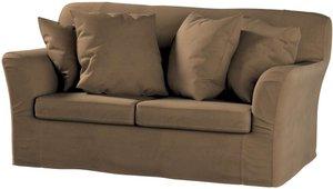 Tomelilla 2-Sitzer Sofabezug nicht ausklappbar, braun, Sofahusse, Tomelilla 2-Sitzer, Living (160-94)