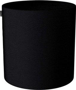 Pouf Barrel, schwarz, ø40 × 40 cm, Etna (705-00)