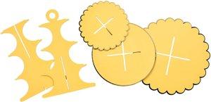 Etagere Party D29,5cm, gelb