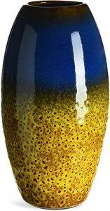 Vase, D:13,5cm x H:24cm, senfgelb