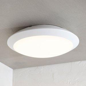 LED-Außendeckenlampe Naira o. Sensor, weiß