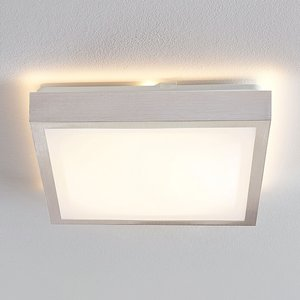 Lindby Margit LED-Alu-Deckenlampe, eckig, 32 cm