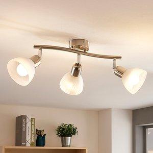 Lindby Paulina LED-Deckenlampe, 3-fl., länglich