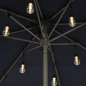 LED-Lichterkette 490144 für Sonnenschirme