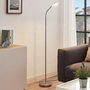 LED-Leselampe Meghan, verstellbar, nickel