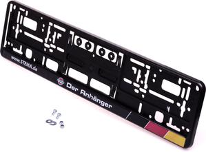 Stema Kennzeichenrahmen mit Grundplatte