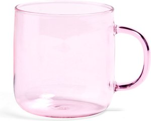 Tasse Borosilicate pink