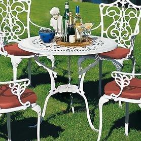 Tisch 'Versailles', weiß